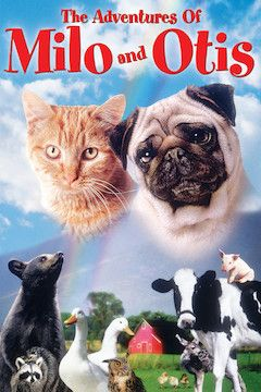 The Adventures of Milo and Otis movie poster.