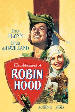 The Adventures of Robin Hood movie poster.