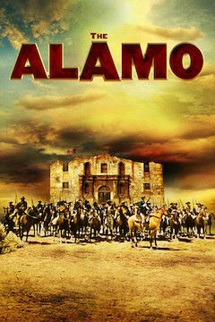 The Alamo movie poster.