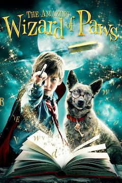 The Amazing Wizard of Paws movie poster.