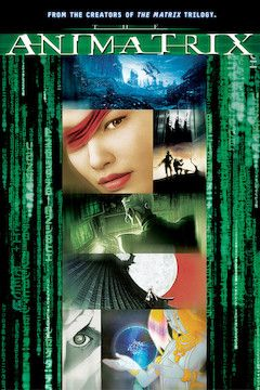 The Animatrix movie poster.