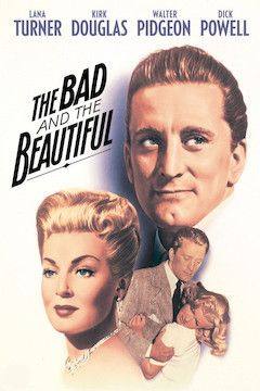 The Bad and the Beautiful movie poster.