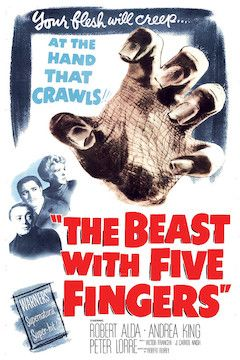 Poster for the movie The Beast With Five Fingers
