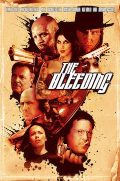The Bleeding movie poster.