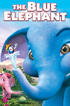 The Blue Elephant movie poster.