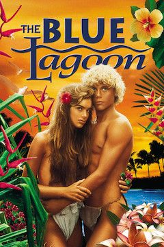 The Blue Lagoon movie poster.