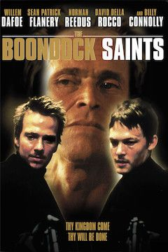 The Boondock Saints movie poster.