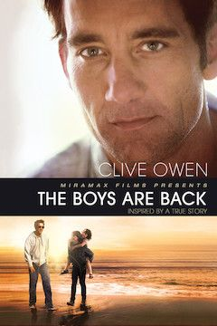 The Boys Are Back movie poster.
