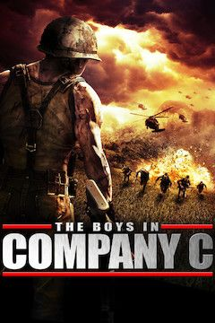 The Boys in Company C movie poster.