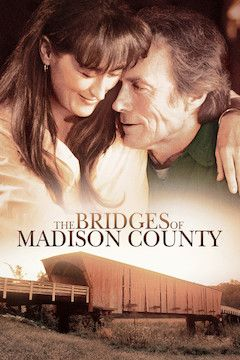 The Bridges of Madison County movie poster.