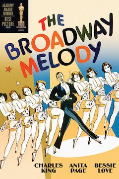 The Broadway Melody movie poster.