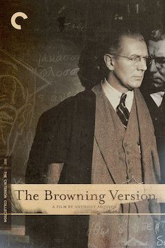 The Browning Version movie poster.