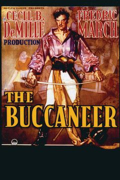 The Buccaneer movie poster.