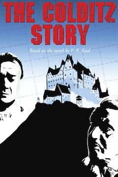 Poster for the movie The Colditz Story