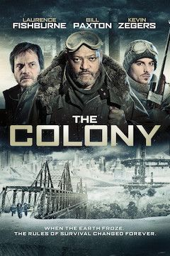 Poster for the movie The Colony