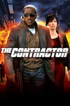 The Contractor movie poster.