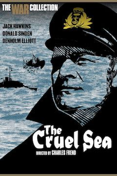 The Cruel Sea movie poster.
