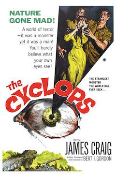 The Cyclops movie poster.