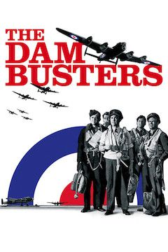 The Dam Busters movie poster.