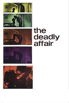 The Deadly Affair movie poster.