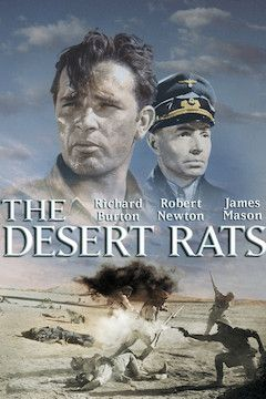 The Desert Rats movie poster.