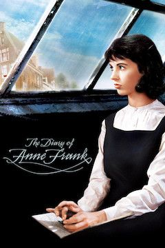 The Diary of Anne Frank movie poster.