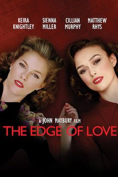 The Edge of Love movie poster.