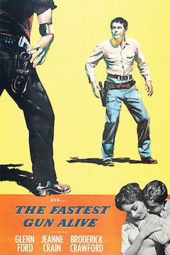 The Fastest Gun Alive movie poster.