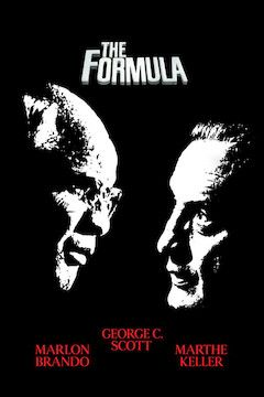 Poster for the movie The Formula