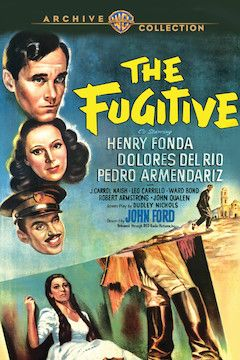 Poster for the movie The Fugitive