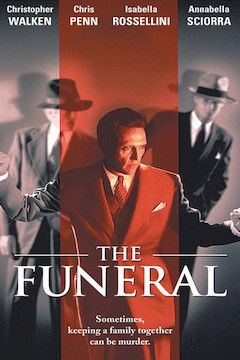 The Funeral movie poster.