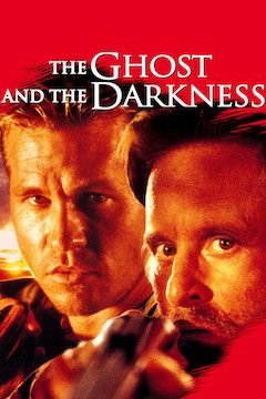 The Ghost and the Darkness movie poster.