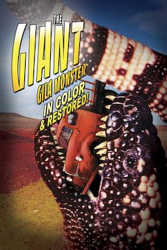 Poster for the movie The Giant Gila Monster
