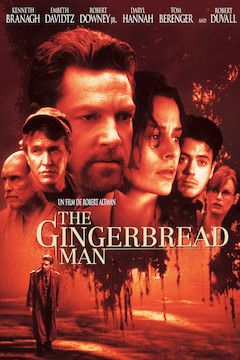 The Gingerbread Man movie poster.