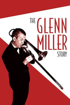 The Glenn Miller Story movie poster.