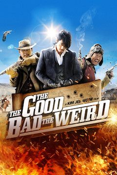 The Good, the Bad, the Weird movie poster.
