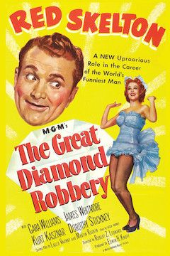Poster for the movie The Great Diamond Robbery