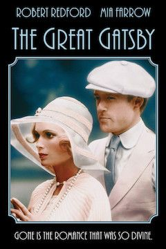 The Great Gatsby movie poster.