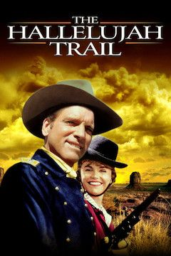 The Hallelujah Trail movie poster.