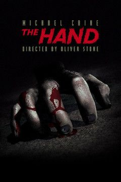 The Hand movie poster.