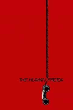The Human Factor movie poster.
