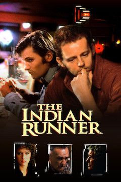 The Indian Runner movie poster.