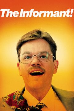 The Informant! movie poster.