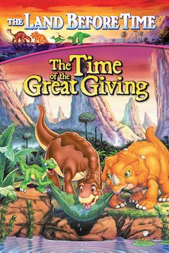 The Land Before Time III: The Time of the Great Giving movie poster.