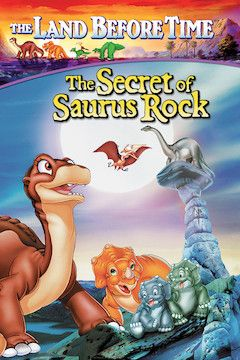 The Land Before Time VI: The Secret of Saurus Rock movie poster.
