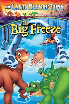 The Land Before Time VIII: The Big Freeze movie poster.