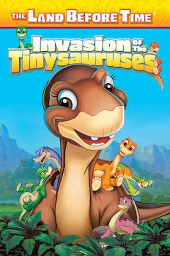 The Land Before Time XI: Invasion of the Tinysauruses movie poster.