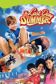 The Last Day of Summer movie poster.