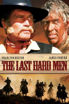 The Last Hard Men movie poster.