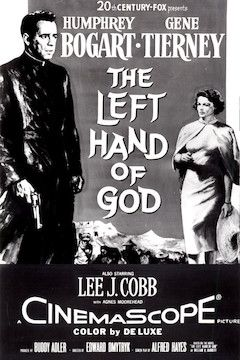 Poster for the movie The Left Hand of God